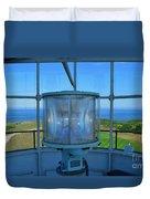 Cape Cod Lighthouse View Duvet Cover