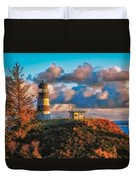 Cape Disappointment Light House Duvet Cover