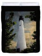 Cape Florida Lighthouse 1 Duvet Cover
