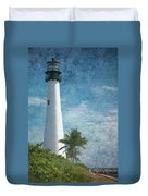 Cape Florida Lighthouse 2 Duvet Cover