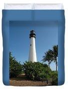 Cape Florida Lightstation Duvet Cover