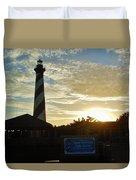 Cape Hatteras Lighthouse 1 11/05 Duvet Cover