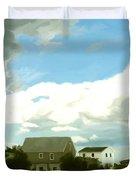 Cape House Duvet Cover