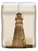 Cape Jourimain Lighthouse Duvet Cover