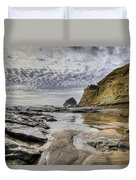 Cape Kiwanda And Haystack Rock Duvet Cover