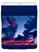 Cape Le Grande Sunset Duvet Cover