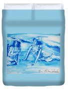 Cape May Bathing Beauty Duvet Cover