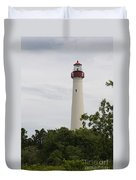Cape May Lighthouse II Duvet Cover