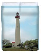 Cape May Lighthouse One Duvet Cover