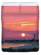 Cape May Sunset Duvet Cover