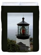 Cape Meares Light Duvet Cover