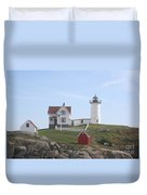 Cape Neddick Lighthouse - Me Duvet Cover