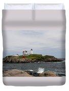Cape Neddick - Nubble Lighthouse Duvet Cover