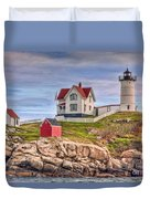 Cape Neddick Nubble Lighthouse II Duvet Cover