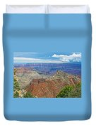 Cape Royal Two On North Rim Of Grand Canyon-arizona Duvet Cover