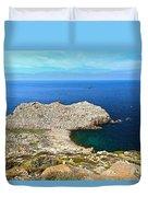 Cape Sandalo In Carloforte Duvet Cover