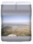 Cape Town Panoramic Duvet Cover