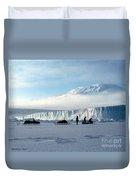 Capeevans-antarctica-g.punt-7 Duvet Cover
