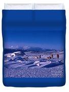 Capeevanshut-antarctica-g.punt-6 Duvet Cover