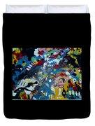 Capillary Attraction  Duvet Cover
