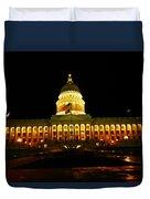 Capital Building In Utah Salt Lake City Duvet Cover
