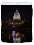 Capitol Christmas - 2012 Duvet Cover