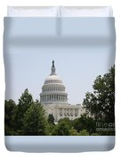 Capitol Dome  Washington Dc Duvet Cover