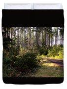 Capitol Forest Logging Road Duvet Cover