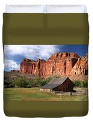 Capitol Reef Homestead Duvet Cover