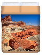 Capitol Reef Waterpocket Fold Duvet Cover