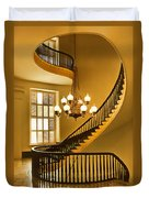 2 - Capitol Staircase - Montgomery Alabama Duvet Cover