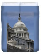 Capitol Washington Dc Steps And Stairs Duvet Cover