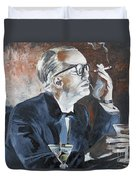 Capote By Hoffman Duvet Cover