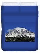 Capped Rainier Up Close Duvet Cover