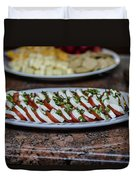 Caprese Salad Duvet Cover