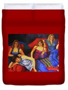 Capricious Luck Duvet Cover