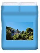 Capri's Gardens Duvet Cover