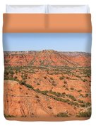 Caprock Canyon 1 Duvet Cover