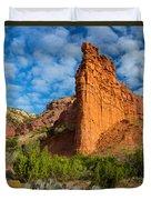 Caprock Canyon Rim Duvet Cover