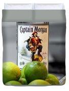 Captain Morgan Duvet Cover