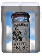 Captain Morgan White Rum Duvet Cover