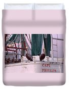 Captain Phillips And First Mate Duvet Cover