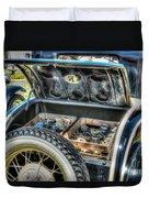 Car 4 Duvet Cover