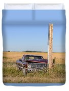 Car Accident Duvet Cover