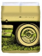 Car And Tire Duvet Cover