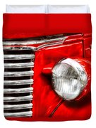 Car - Chevrolet Duvet Cover by Mike Savad