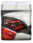Car - Classic 50's  Duvet Cover