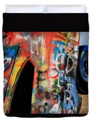 Car Of Many Colors Duvet Cover