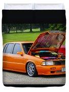 Car Show 026 Duvet Cover