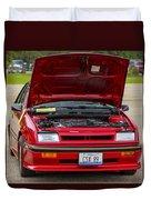 Car Show 037 Duvet Cover
